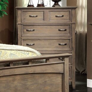 Jenkins Distressed 6 Drawer Chest by Gracie Oaks