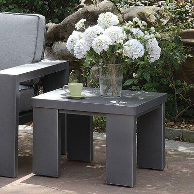 Sherrell Aluminum Side Table by Orren Ellis Cheap
