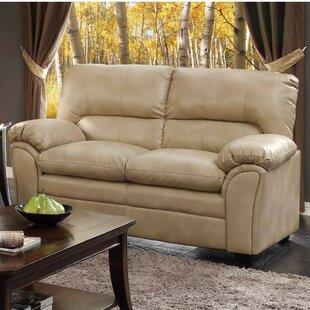 Affordable Shenandoah Bonded Loveseat by Winston Porter Reviews (2019) & Buyer's Guide