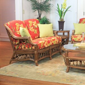 Nadine Bamboozel Plantain Loveseat by ..
