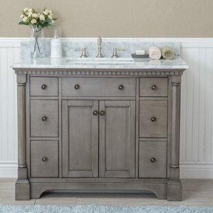 42 Bathroom Vanity Cabinets. Save Darby Home Co Goldberg 42 Single Bathroom Vanity Set