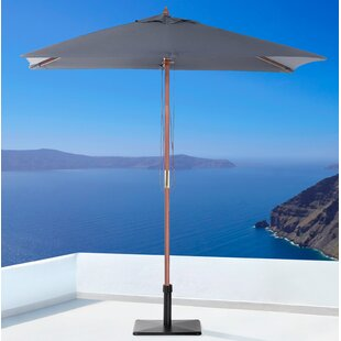 Anella 1.9m X 1.4m Rectangular Traditional Parasol By Sol 72 Outdoor