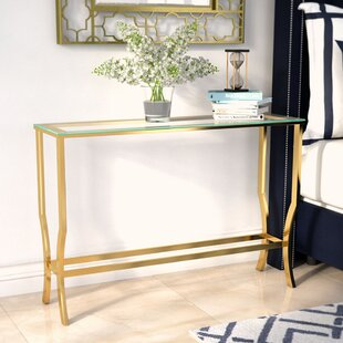 Alvar Contemporary Console Table By Willa Arlo Interiors