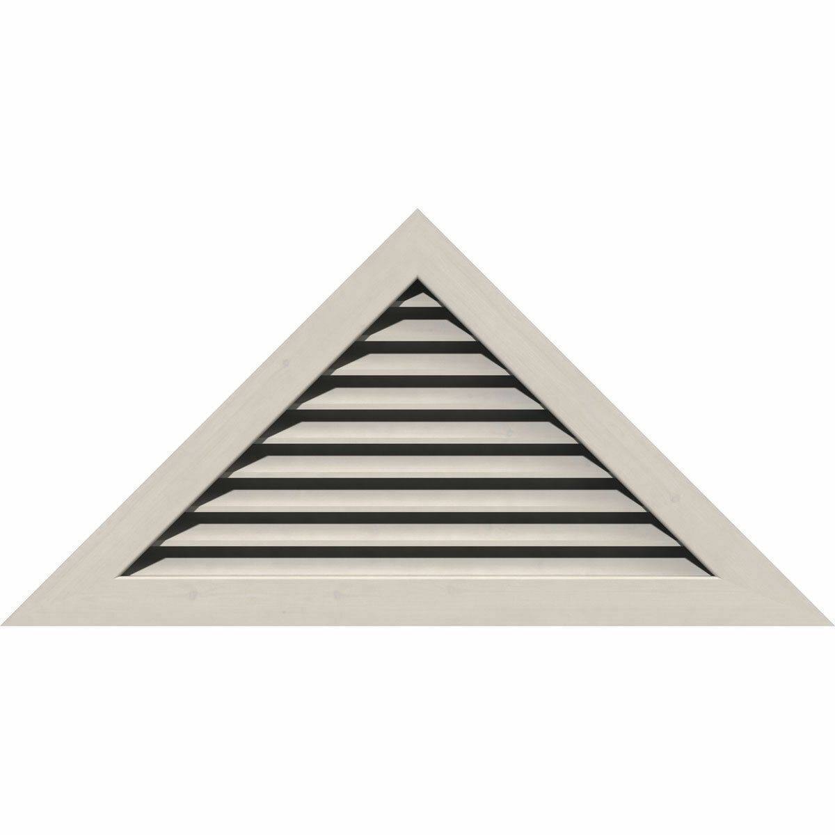Ekena Millwork Pitch Wood Triangle Recessed Mount Gable Vent Wayfair