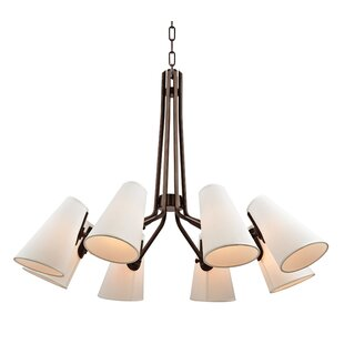 Corrigan Studio Alto 8-Light Shaded Chandelier