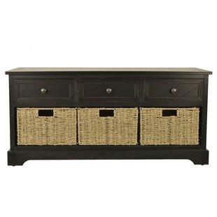 Ardina Wood Storage Bench ByBeachcrest Home