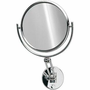 Symple Stuff Knap Double-Sided Extendable Makeup/Shaving Mirror