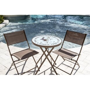 Panama Jack Outdoor Café Folding Bistro Set