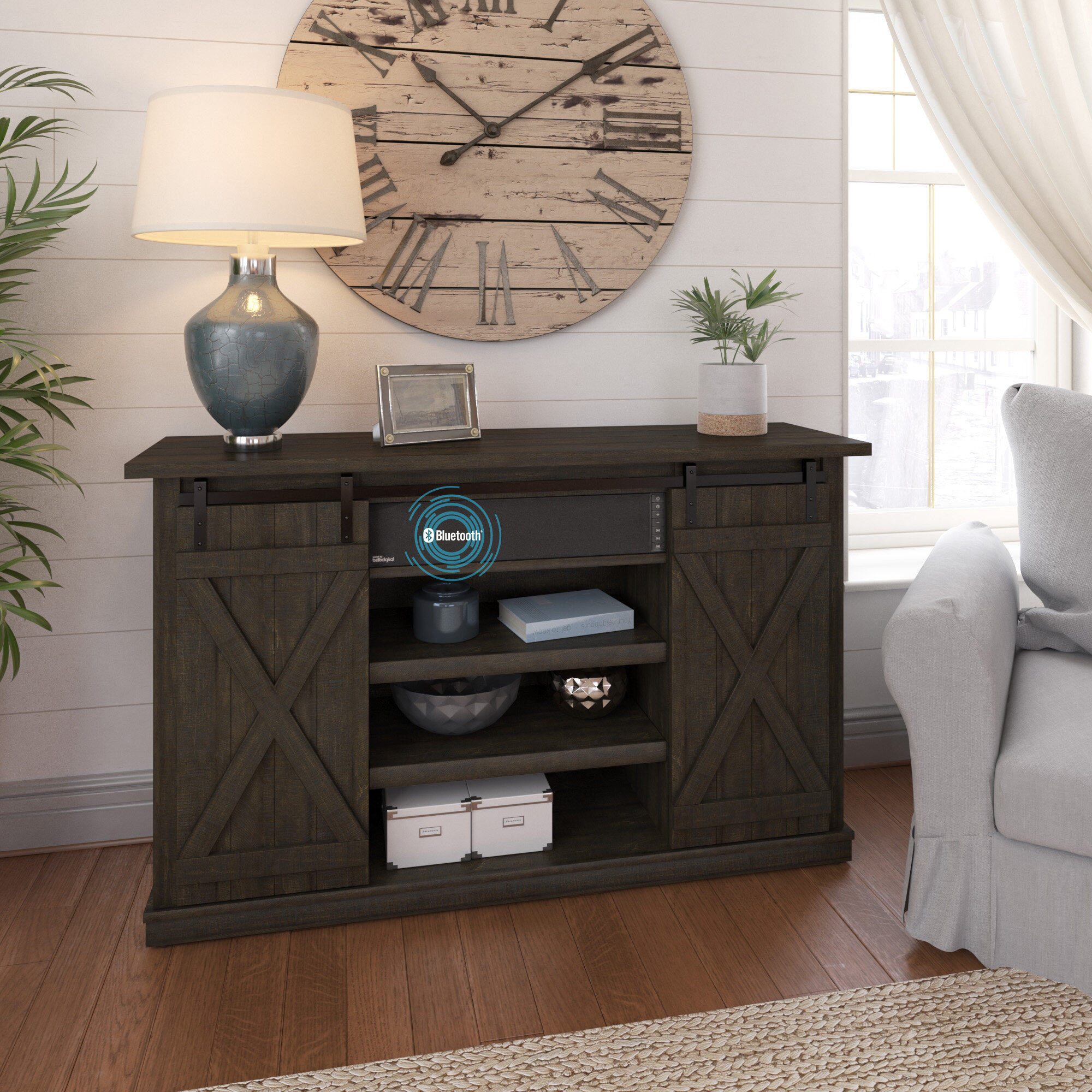 Mccloskey TV Stand for TVs up to 60