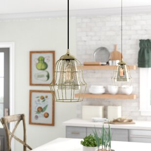 Laurel Foundry Modern Farmhouse Dublin 1-Light Geometric Pendant
