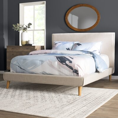 Admirable Langley Street Parocela Upholstered Platform Bed Size Queen Inzonedesignstudio Interior Chair Design Inzonedesignstudiocom