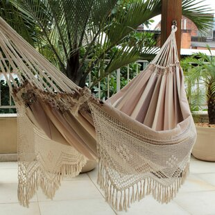 Novica Fair Trade Double Tree Hammock