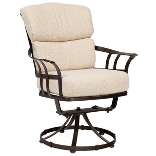 Woodard Atlas Swivel Patio Dining Chair