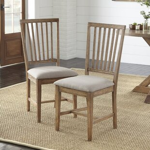 Byington Upholstered Dining Chair Set of 2 by Ophelia amp Co