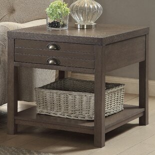 Delvalle Rectangle End Table by Laurel Foundry Modern Farmhouse