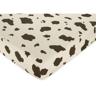 Best Reviews Wild West Cowboy Print Fitted Crib Sheet By Sweet Jojo Designs