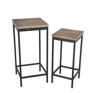 Best Reviews Lavaca Nesting Plant/Telephone Table ByWilliston Forge