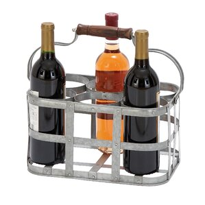 Galvanized 6-Bottle Tabletop Wine Rack by Birch Lane?