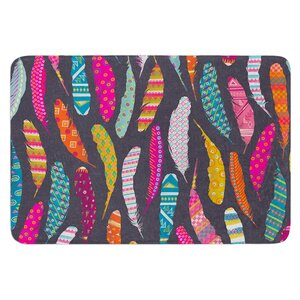 Flight Pattern by Skye Zambrana Bath Mat