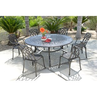 Extendable Metal Dining Table by DHC Furn..
