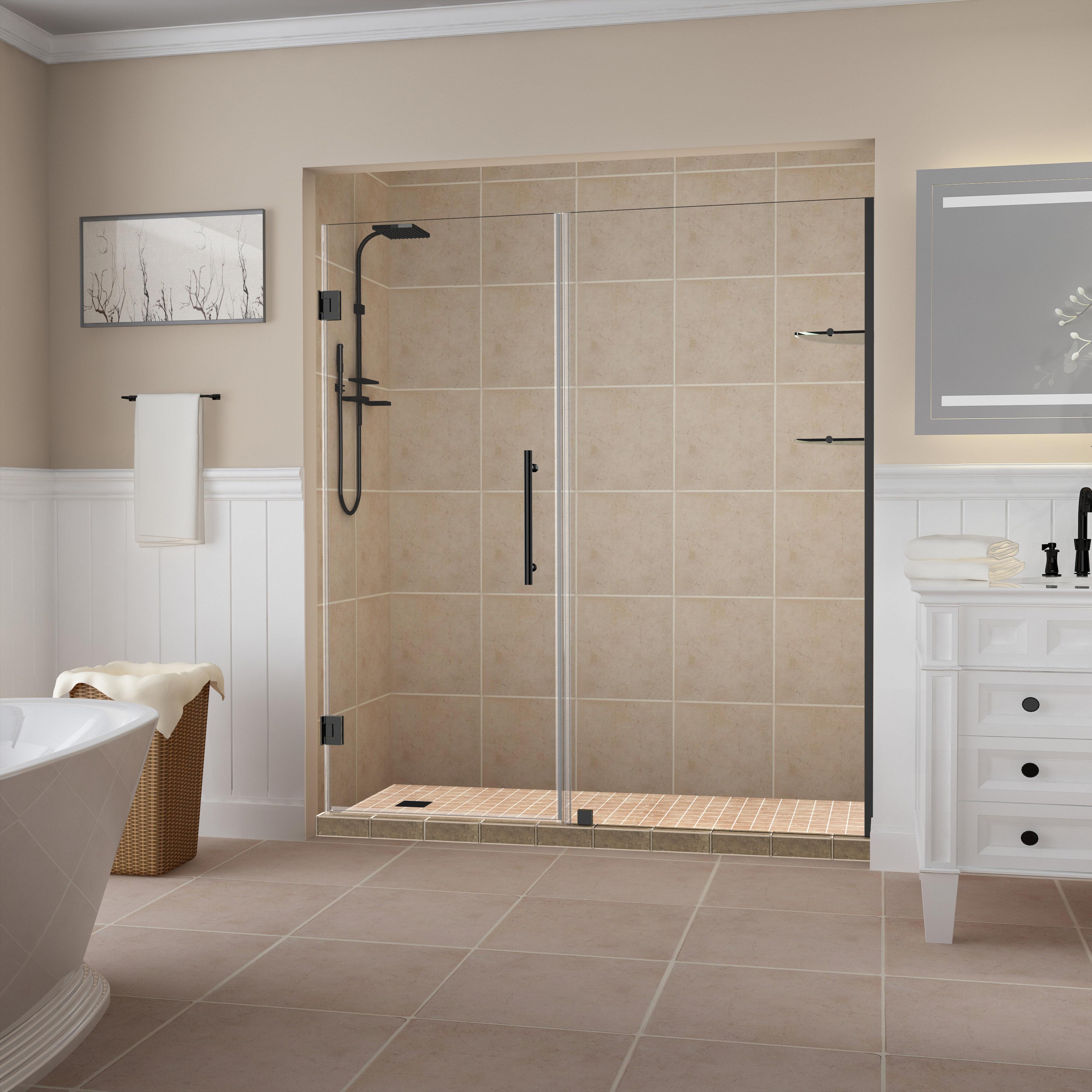 Belmore Gs 59 X 72 Hinged Frameless Shower Door
