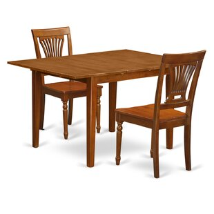 Lorelai 3 Piece Dining Set by Alcott Hill