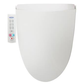 Feel Fresh HomeTech HI-4601WT Elongated Bidet Seat