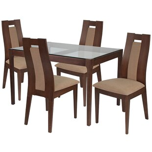 Remus 5 Piece Dining Set by Ebern Designs