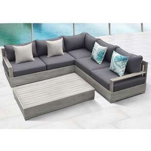 Beranda 3 Piece Sectional Set with Cushions