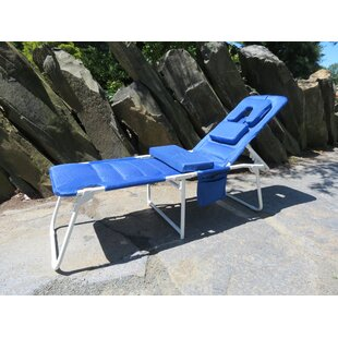 OH Cloud Reclining Beach Chair with Cushion