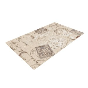 Heidi Jennings World Traveler Brown Area Rug