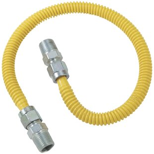 Gas Dryer and Water Heater Flex-Line Range Universal Installation Kit