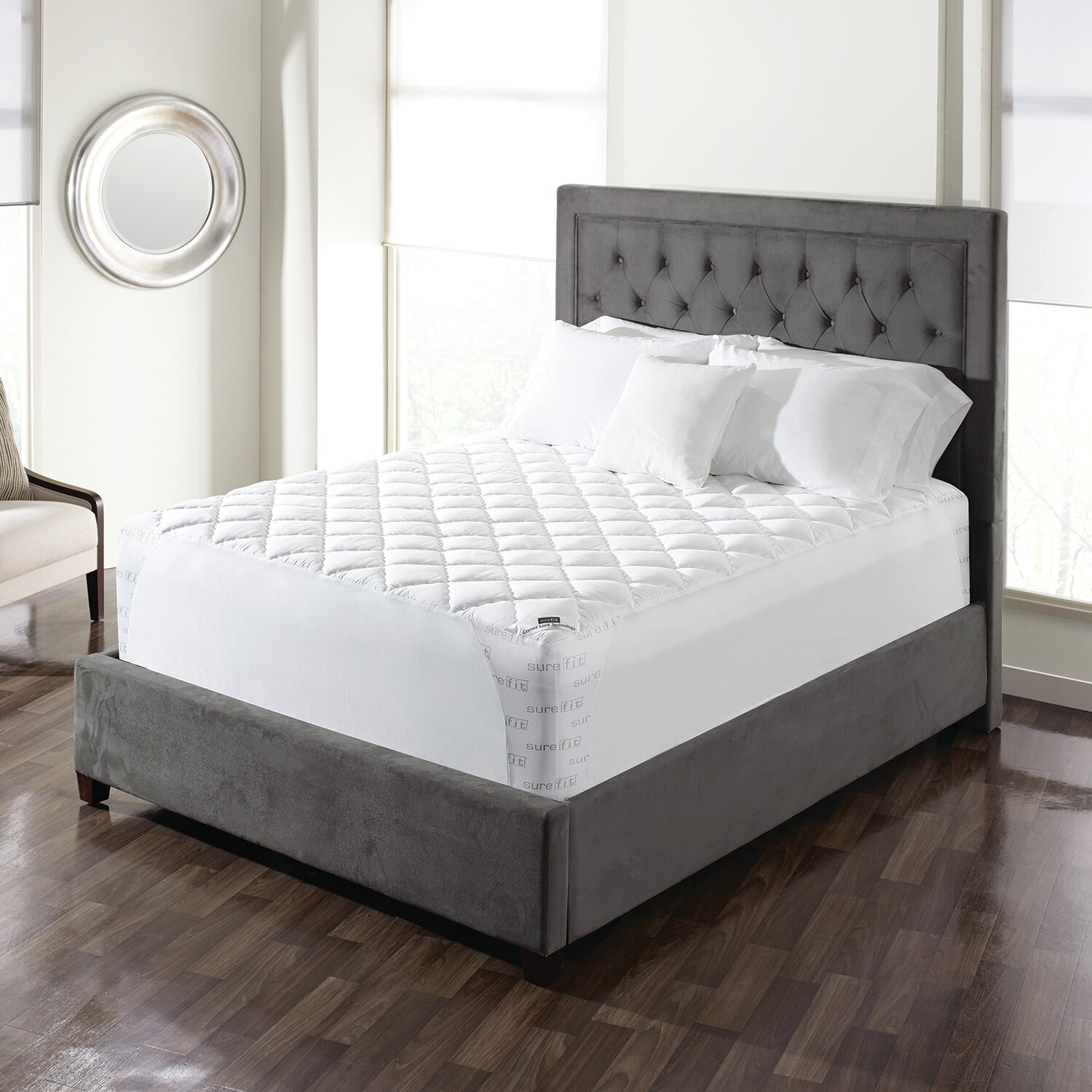 toppers brookside infused in pads foam gel p pad topper mattress twin memory xl