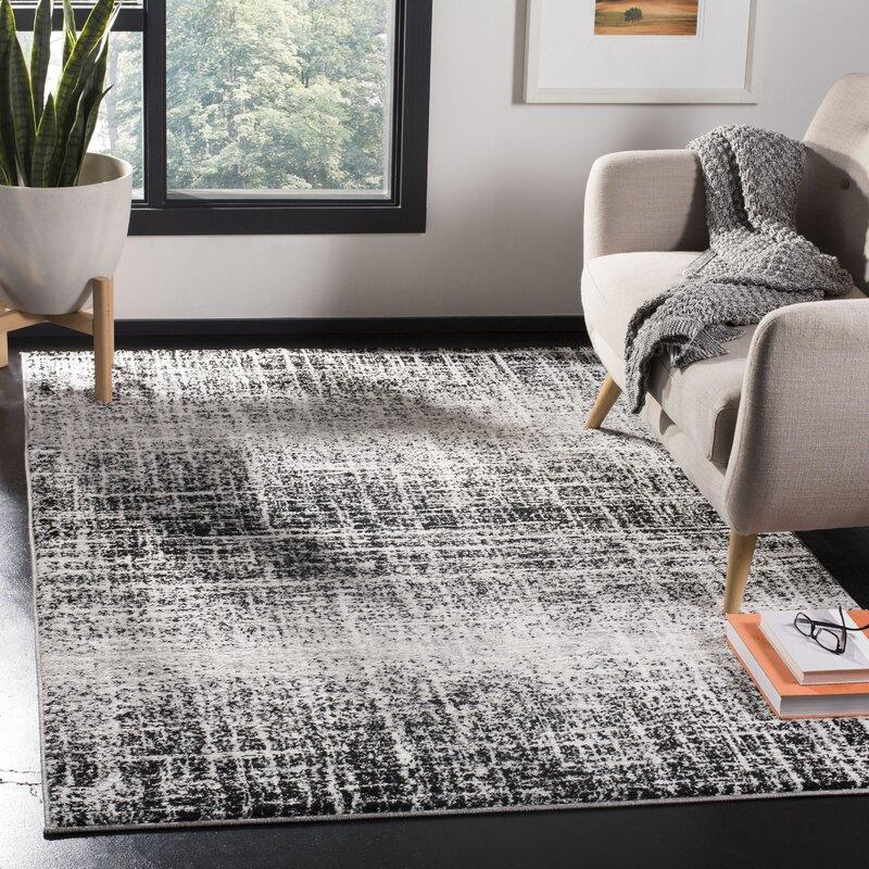 Trent Austin Design Norwell Grey Black Area Rug Reviews Wayfair Ca