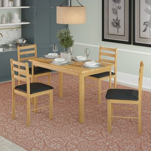 Juliann Dining Set With 4 Chairs By 17 Stories