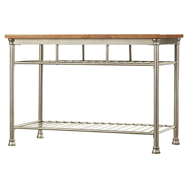 modern contemporary butcher block table allmodern