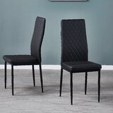 Carlosantonio Upholstered Parsons Chair (Set of 6) by Latitude Run®