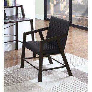 Ebern Designs Bonaventure Geometrically Structured Armchair