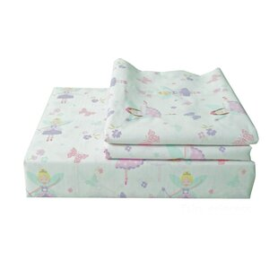 Textile City Fairy Princess 200 Thread Count 100% Cotton Sheet Set