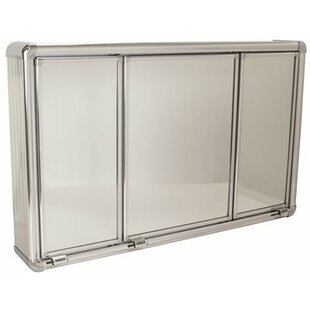 Great Price 28.25 x 17.25 Surface Mount Framed Medicine Cabinet By ProPlus