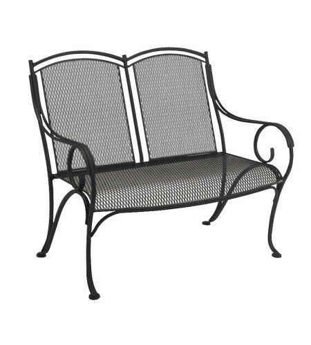 wrought iron garden furniture. Modesto Wrought Iron Garden Bench Furniture O
