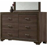 Leonide 6 Drawer Double Dresser by Foundry Select