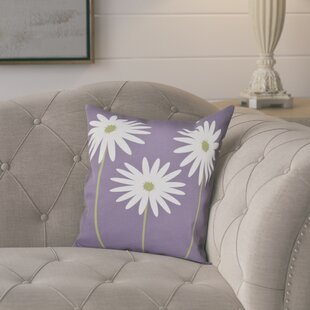 Omar Floral Print Throw Pillow