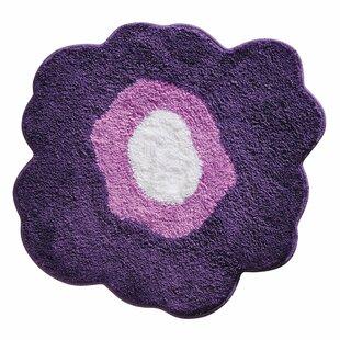 Best Reviews Poppy Purple Area Rug By InterDesign