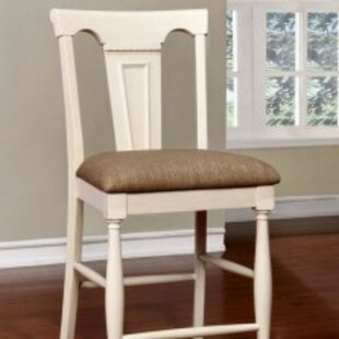 Pitcock Padded Fabric 26 Bar Stool (Set Of 2) by Charlton Home Purchase