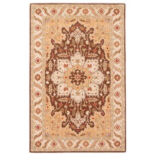 Great Price Trinningham Hand-Tufted Beige/Taupe Area Rug ByCharlton Home