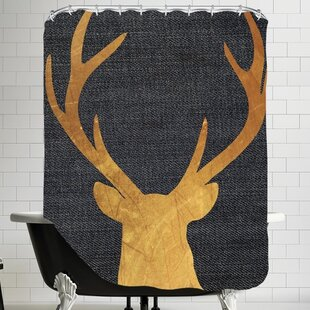 Pilchuck Deer 4 Single Shower Curtain