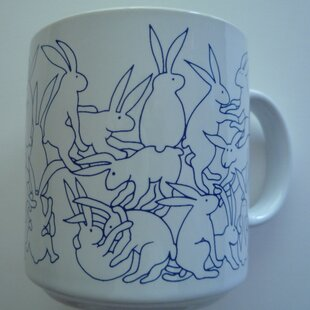 Buell 11 oz. Daytime Rabbits Mug