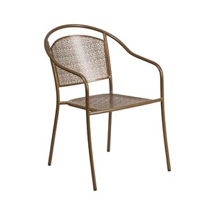 Mccrae Stacking Patio Dining Chair by Red Barrel Studio Savings