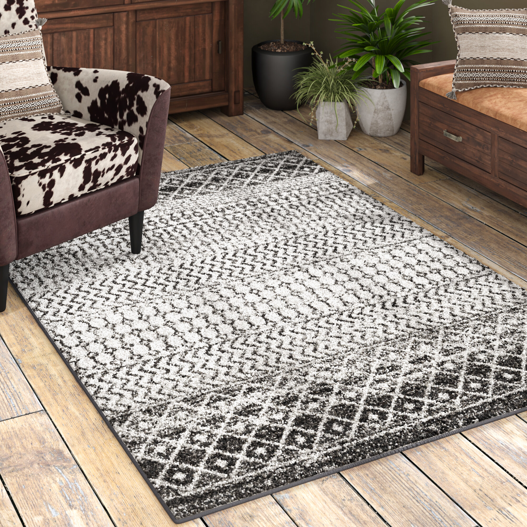 Gray Silver Area Rugs You Ll Love In